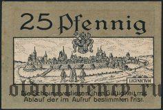 Лигниц (Liegnitz), 25 пфеннингов