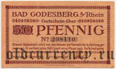 Бад-Годесберг (Bad Godesberg), 50 пфеннингов 1920 года