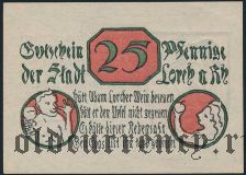 Лорх (Lorch), 25 пфеннингов 1920 года
