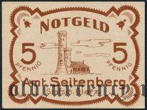 Зейтенберг (Seitenberg), 5 пфеннингов