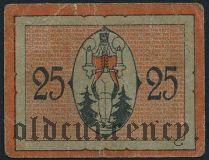Шварценберг (Schwarzenberg), 25 пфеннингов 1920 года