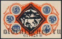 Билефельд (Bielefeld), 50 пфеннингов 1921 года. Вар. 4