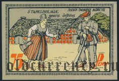 Зет (Seeth), 75 пфеннингов 1921 года