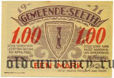 Зет (Seeth), 1 марка 1921 года