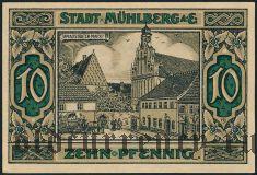 Мюльберг (Mühlberg), 10 пфеннингов 1921 года