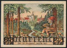 Аума (Auma), 25 пфеннингов 1921 года