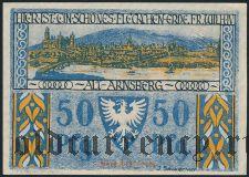 Арнсберг (Arnsberg), 50 пфеннингов 1921 года. Вар. 1