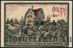 Ашерслебен (Aschersleben), 25 пфеннингов 1921 года