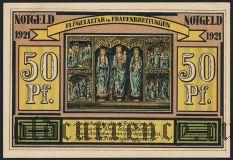 Альтен и Фрауэнбреитюнген (Alten und Frauenbreitungen), 50 пфеннингов 1921 года. Вар. 2