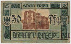 Трир (Trier), 50 пфеннингов 1920 года