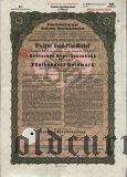 Deutschen Hypothekenbank, Meiningen, 8% iger Gold Pfandbrief, 500 goldmark 1930.