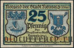 Нойзац (Neusalz), 25 пфеннингов