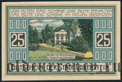 Лобенштайн (Lobenstein), 25 пфеннингов 1921 года