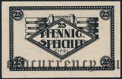 Шпайхер (Speicher), 25 пфеннингов 1920 года. Вар. 1