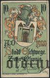 Эшвеге (Eschwege), 10 пфеннингов 1920 года