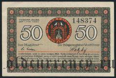 Верден (Verden), 50 пфеннингов 1920 года