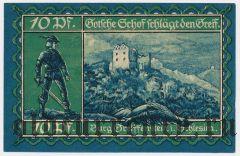 Грайффенберг (Greiffenberg), 10 пфеннингов 1920 года