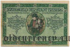 Триберг (Triberg), 50 пфеннингов 1918 года