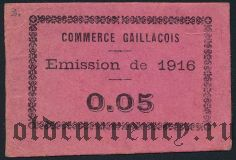 Франция, Gaillac, 0.05 франков 1916 года