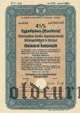Thüringischen Landes-hypothekenbank, Weimar, 1000 reichsmark 1939.
