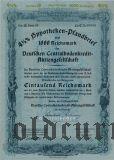 Deutschen Centralbodenkredit, Berlin, 4 1/2% Pfandbrief, 1000 reichsmark 1939.