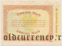 Леннеп (Lennep), 2.000.000 марок 1923 года