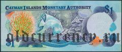 Каймановы Острова, 1 доллар 2001 года