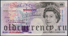 Великобритания, 20 фунтов 1991 года