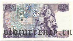 Великобритания, 20 фунтов (1970-91) года