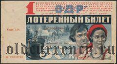 1-я радио-лотерея, 1929 года