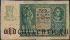 Польша, 50 злотых 1940 года (Немецкая оккупация)