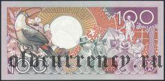 Суринам, 100 гульденов 1988 года