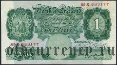 Великобритания, 1 фунт (1934-39) года