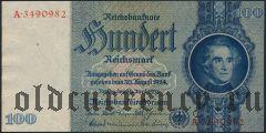Германия, 100 рейхсмарок 1935 года