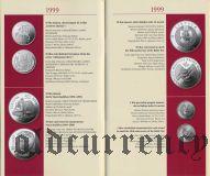Каталог литовских юбилейных монет 1993-2009 гг.