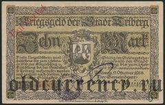Триберг (Triberg), 10 марок 1918 года