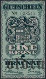 Австро-Венгрия, Braunau, 1 крона 1915 года
