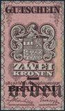 Австро-Венгрия, Braunau, 2 кроны 1915 года