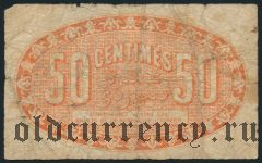 Алжир, 50 сантимов 1922 года