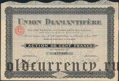 Франция, Union Diamantifere, 100 франков 1928 года