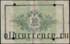Альтона (Altona), 10 марок 02.11.1918 года