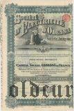 Одесское электрическое общ., 100 франков