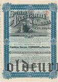 Одесское электрическое общ., 500 франков