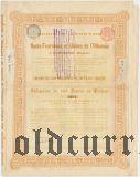 Доменные печи и заводы на р. Ольховка в Успенске, 500 франков 1898 года