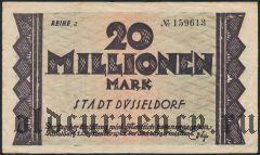 Дюссельдорф (Düsseldorf), 20.000.000 марок 1923 года