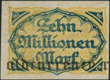 Моерс (Moers), 10.000.000 марок 1923 года