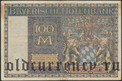Мюнхен (München), 100 марок 1922 года