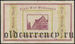 Бад-Вильдунген (Bad Wildungen), 1.000.000 марок 1923 года