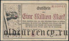 Бойель (Beuel), 1.000.000 марок 1923 года