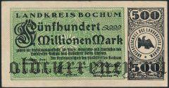 Бохум (Bochum), 500.000.000 марок 1923 года. Вар 1